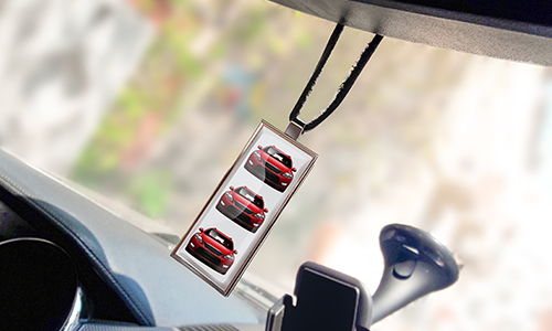 REAR VIEW MIRROR PENDANT SLIM